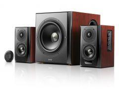 Edifier: S350DB - 2.1 Speakerset - Hout