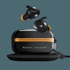 Klipsch: T5 II True Wireless In-Ear Sport Mclaren Hoofdtelefoon - Zwart