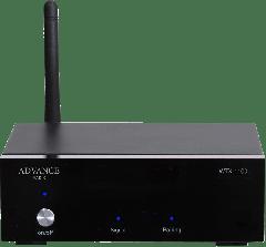 Advance Acoustics: WTX-1100 Bluetooth aptX 5.0 Ontvanger - Zwart
