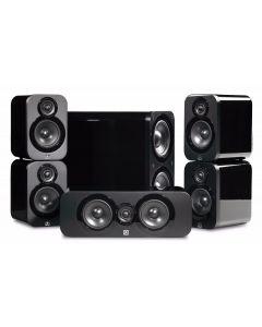 Q Acoustics: Q3000 Cinema Pack 5.1 - Zwart