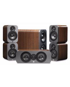 Q Acoustics: Q3000 Cinema Pack 5.1 - Walnoot