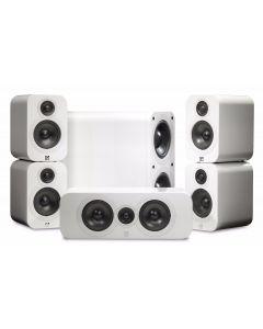 Q Acoustics: Q3000 Cinema Pack 5.1 - Wit