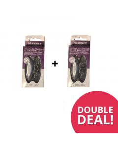 DoubleDeal : 2x Pluggerz Uni-fit Music Transparant