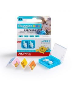 Alpine: Pluggies Kids Earplugs / Oordoppen - Wit