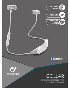 Cellurarline: AQL Collar Bluetooth In-Ear - Wit