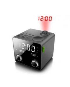 Muse: Wekkerradio M-189P - Zwart