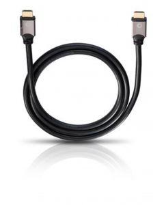 Oehlbach: Black Magic HDMI-kabel w. Ethernet - 7,5 meter