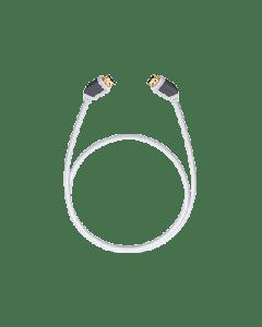 Oehlbach: Shape Magic HDMI-kabel met Ethernet 0,75 meter - Wit
