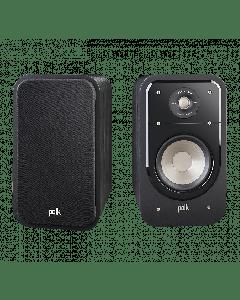 Polk: S20 Boekenplank speaker - 2 stuks - Zwart