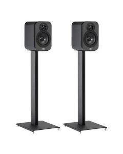Q Acoustics: Q3000ST Speaker Stand - Zwart
