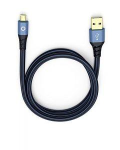 Oehlbach: 2.0 USB Plus USB-A naar Micro-B 0,50 meter