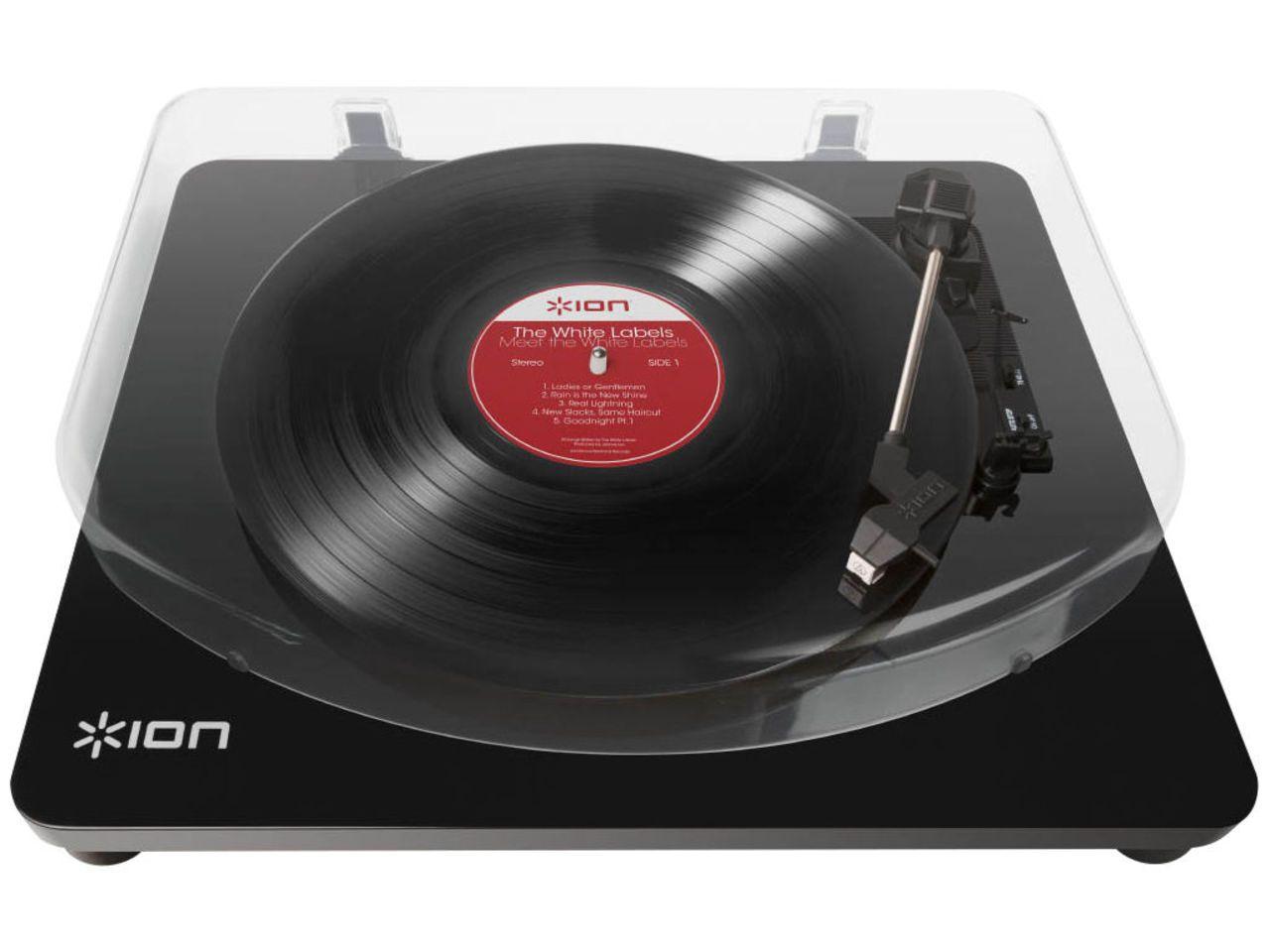 ION: Air LP Platenspeler - Zwart