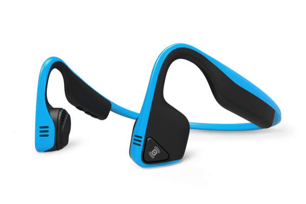AfterShokz Trekz Titanium Bone Conduction Bluetooth Stereo Headset Blauw