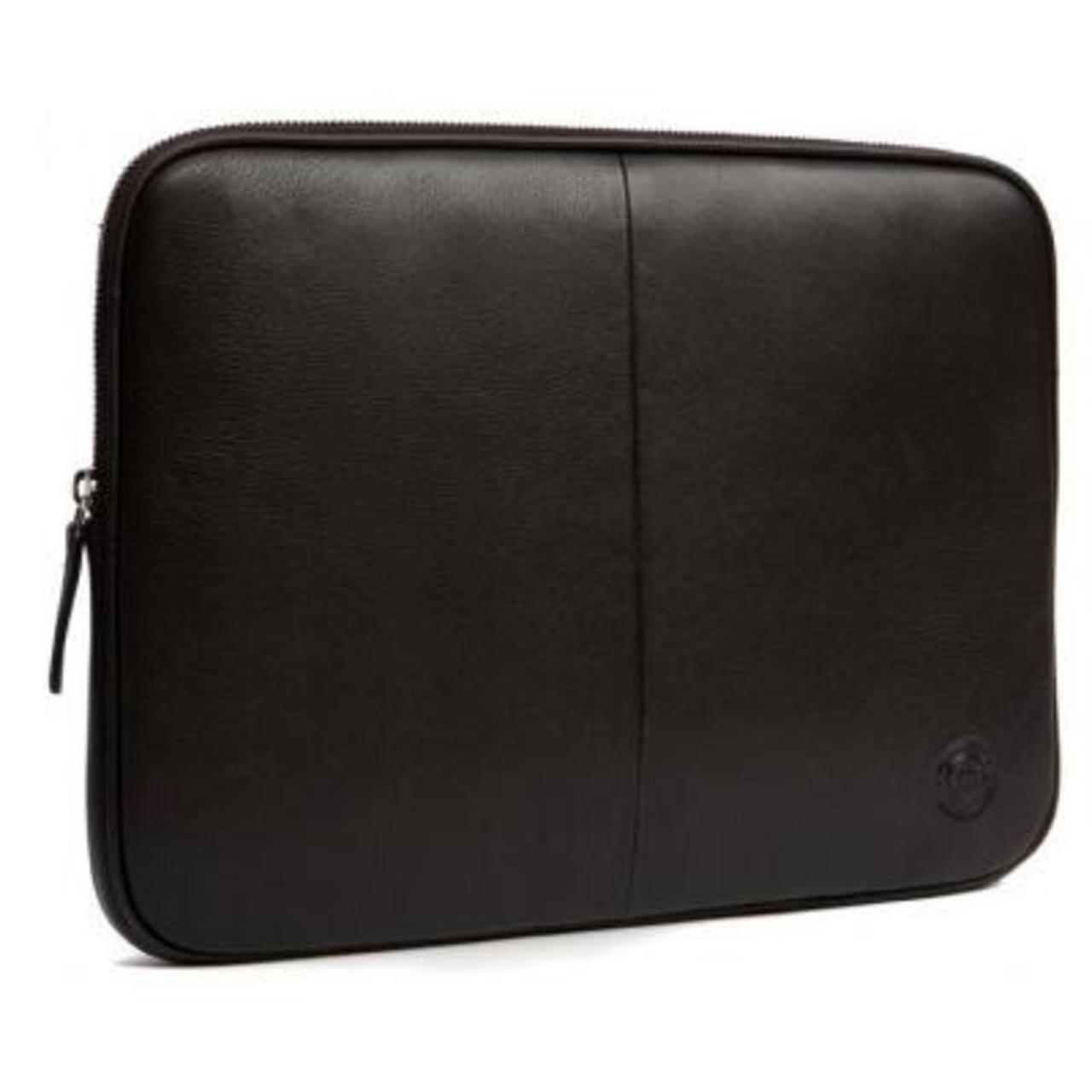D. Bramante Leather Sleeve Case for MacBook Pro 13, Premium Brown (CA13PRBR0237)