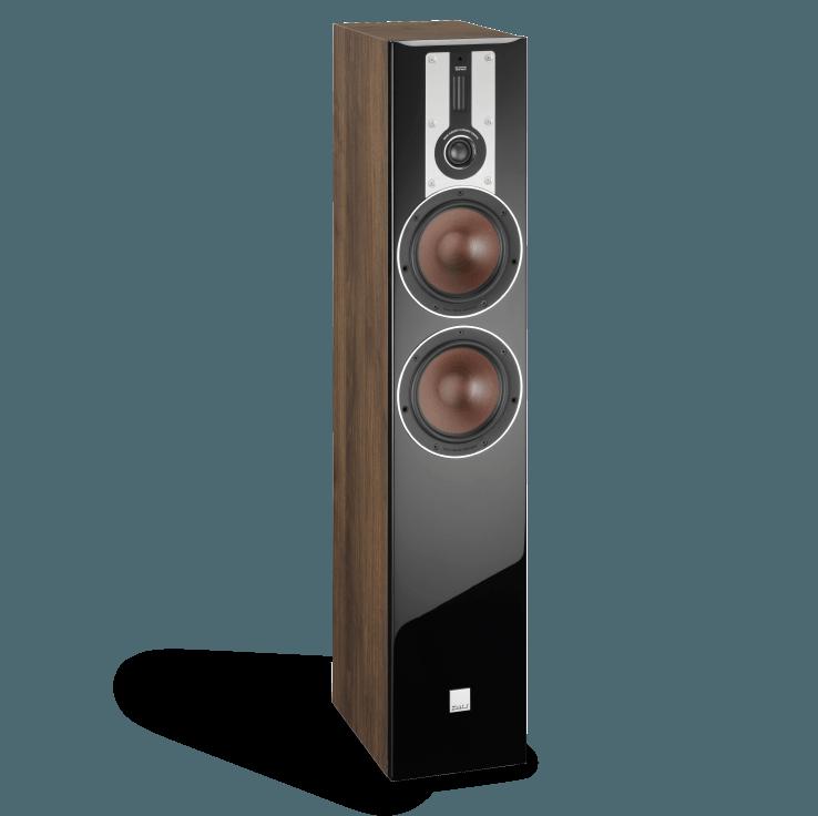Dali: Opticon 6 Vloerstaande Speaker - Walnoot