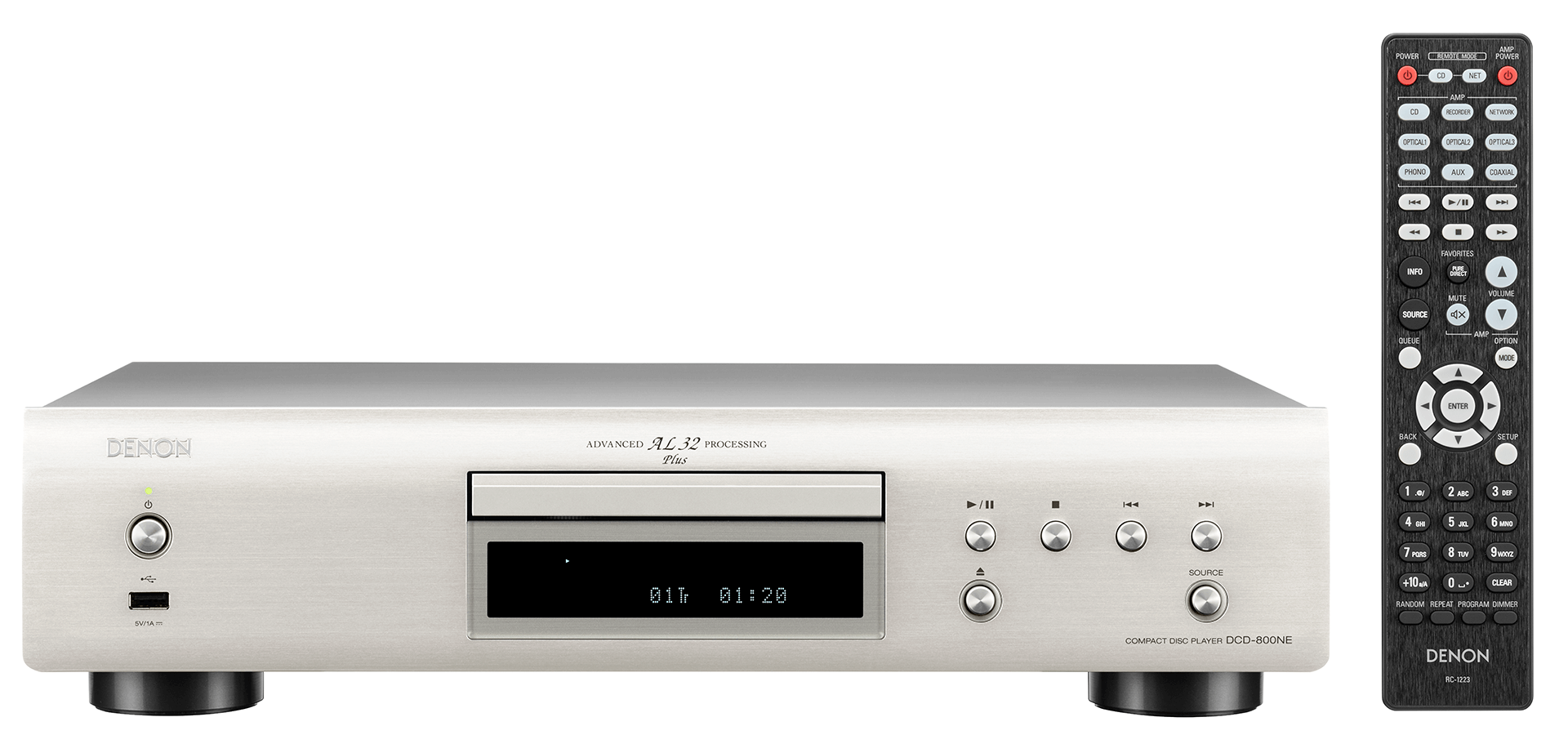 Denon: DCD-800NE Zilver