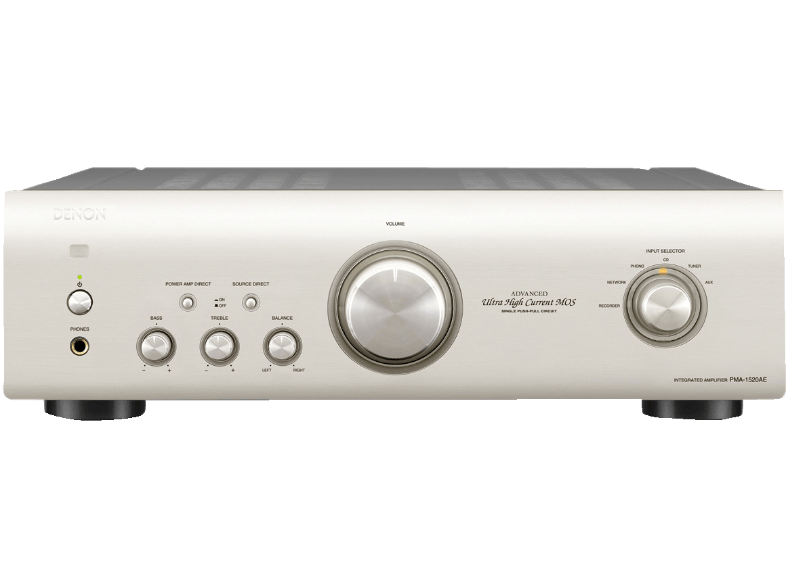 Denon: PMA-1520AE Versterker Zilver
