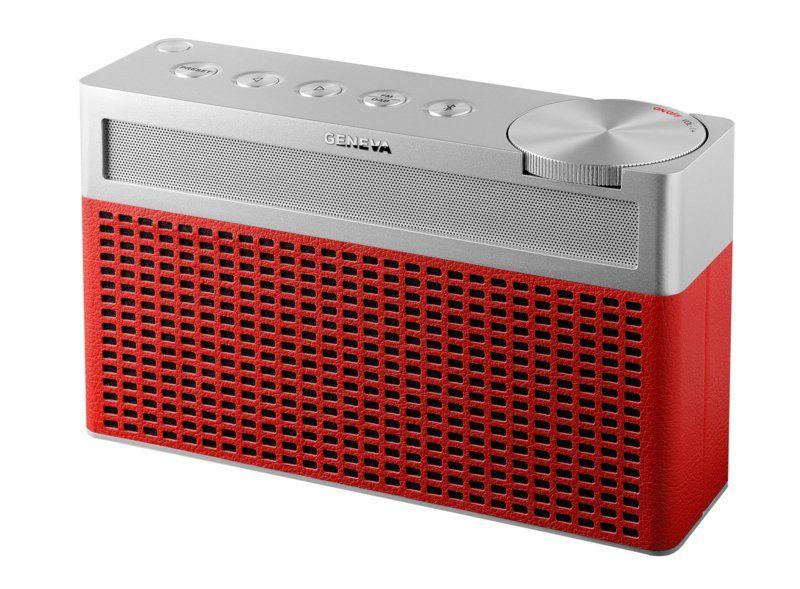 Geneva Touring S Draagbare Bluetooth Speaker Dab+ Radio-Rood
