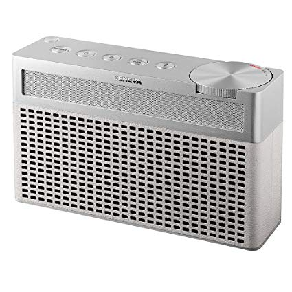 Geneva Touring S Draagbare Bluetooth Speaker Dab+ Radio Wit