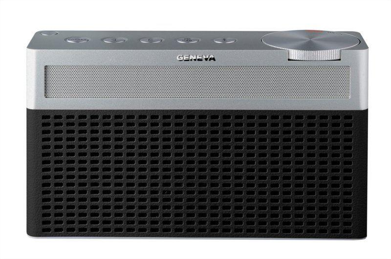 Geneva Touring S Draagbare Bluetooth Speaker Dab+ Radio Zwart