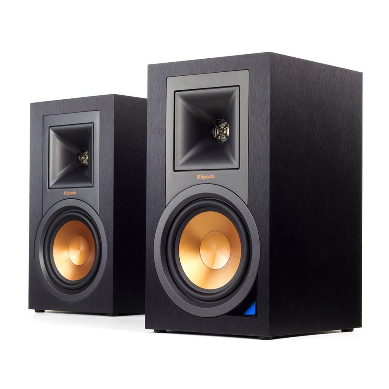 Klipsch: R-15PM Draadloze Boekenplank speakers 2 stuks Zwart