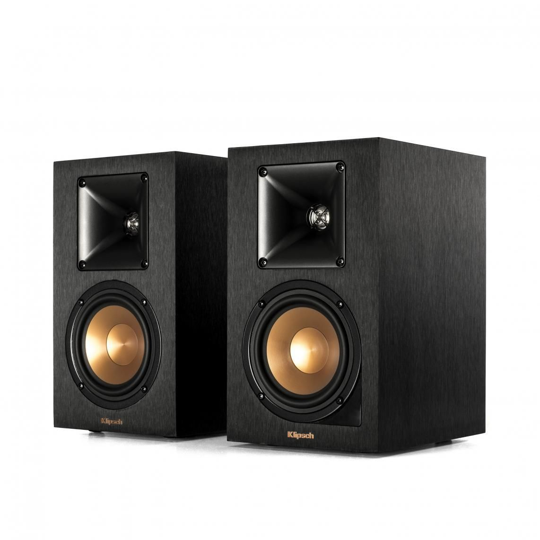 Klipsch: R-14PM Draadloze Boekenplank speakers 2 stuks Zwart