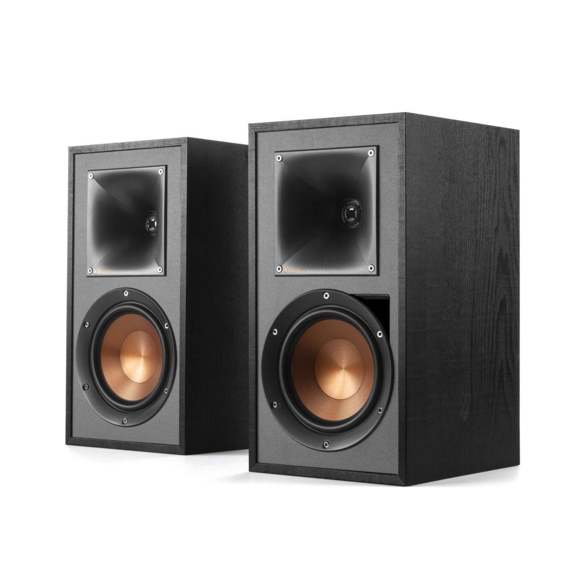 Klipsch: R-51PM Draadloze Boekenplank speakers 2 stuks Zwart