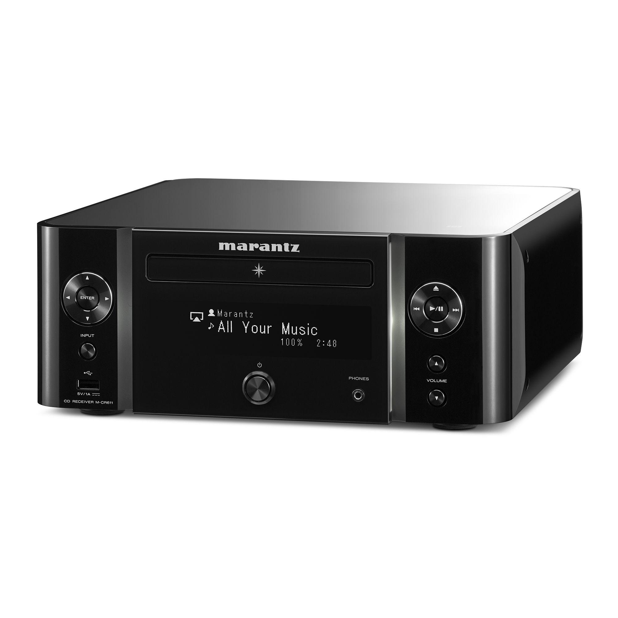 M-CR611 (zwart)
