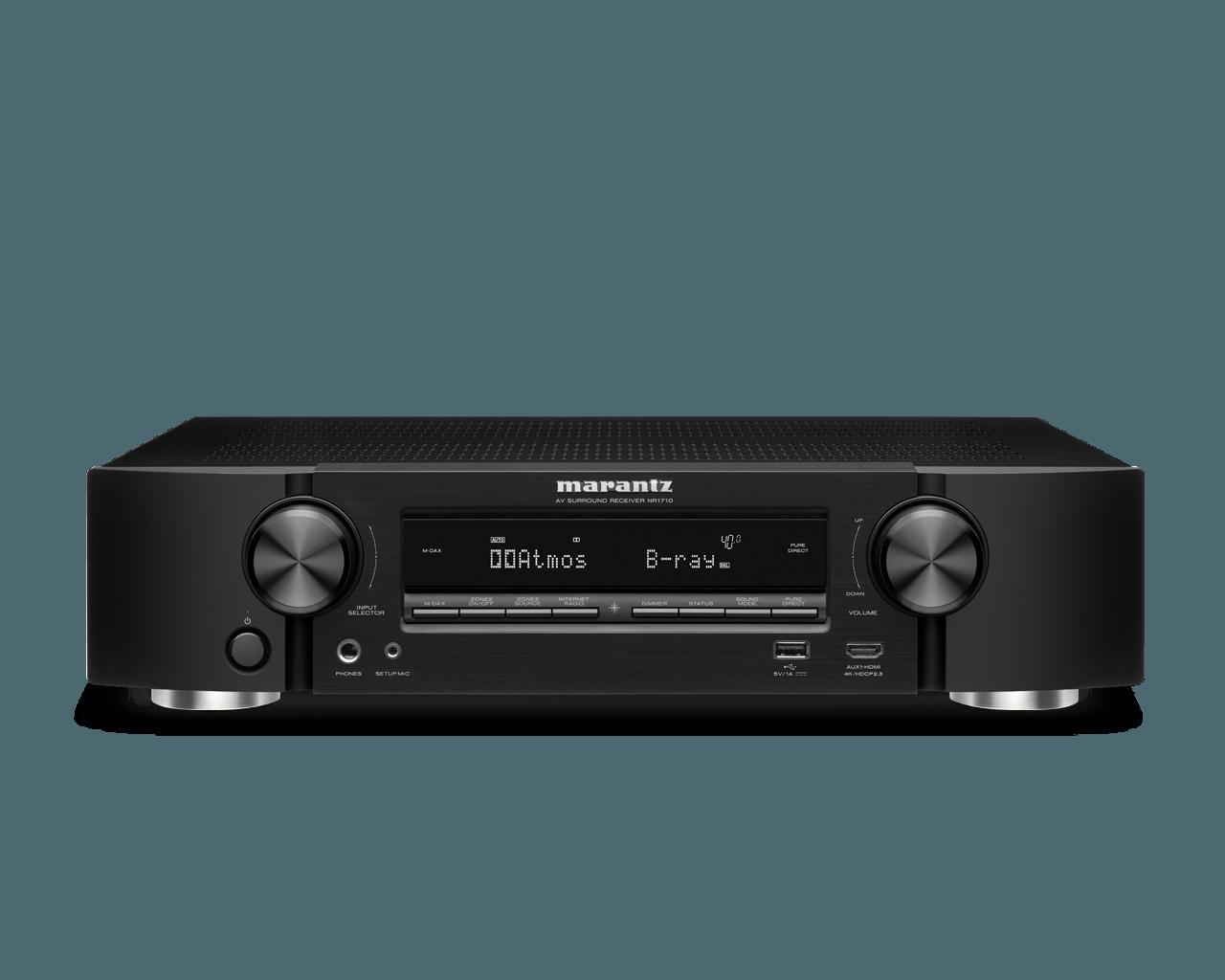 Marantz receiver NR1710 zwart