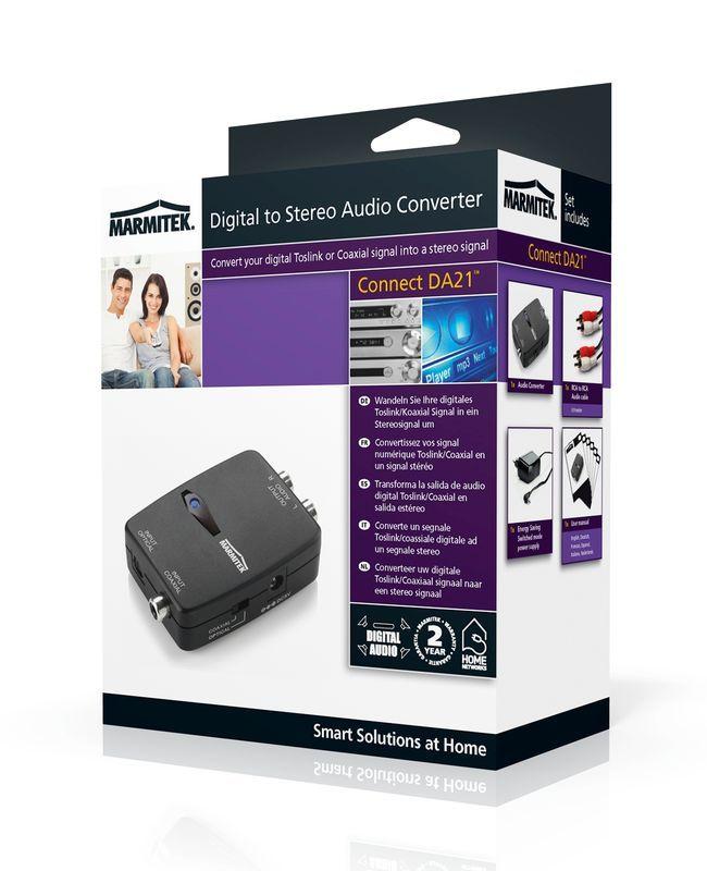 Marmitek Connect DA21 Audio converter