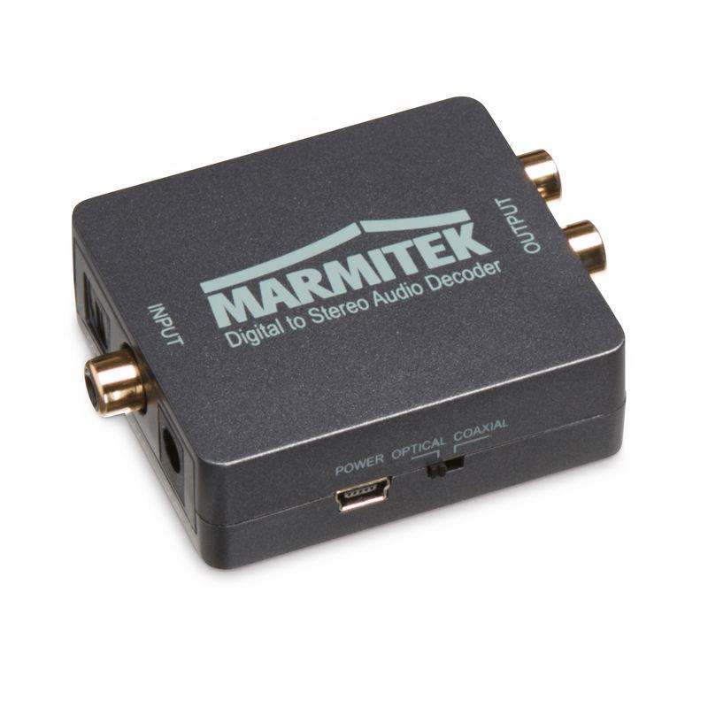 Marmitek: Connect DA51 decoder + converter Zwart
