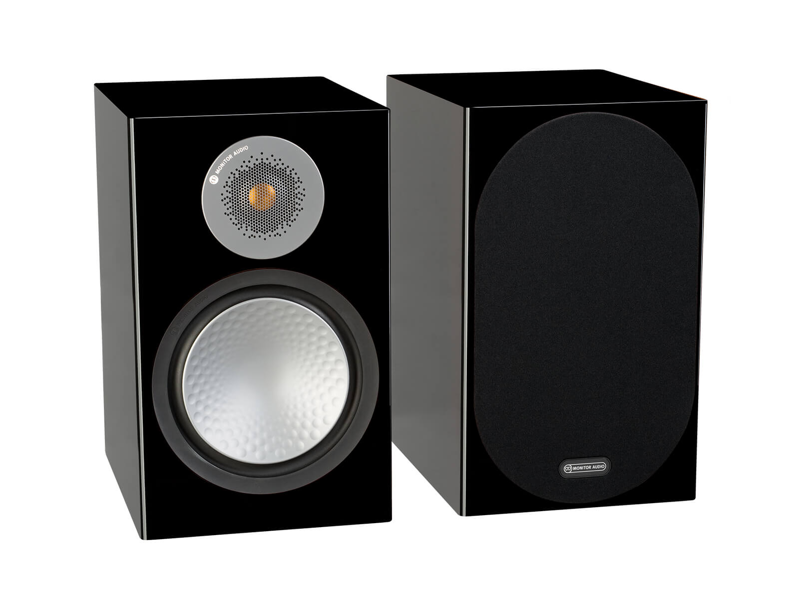 Monitor Audio: Silver 100 Boekenplank Speakers 2 stuks - High Gloss Black