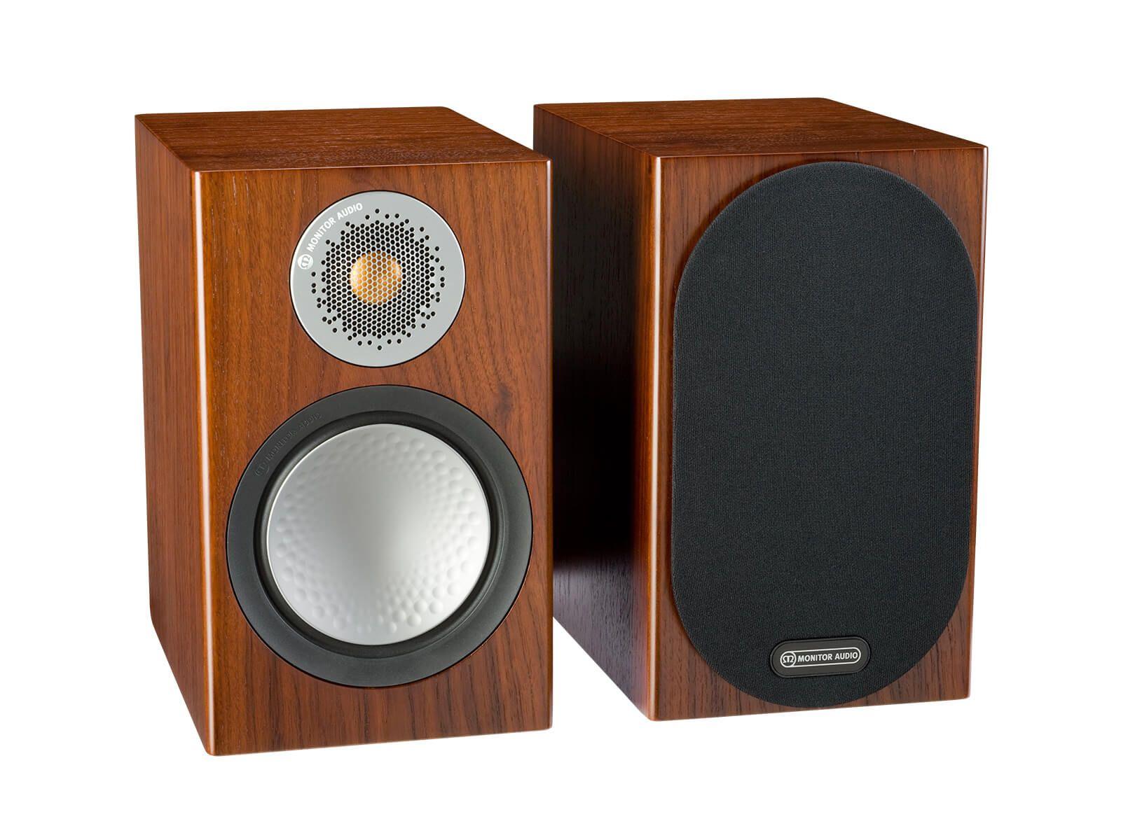 Monitor Audio: Silver 50 Boekenplank Speakers 2 stuks - Walnut