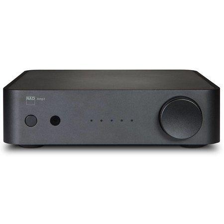 NAD: AMP1 Stereo Versterker met Streaming Zwart