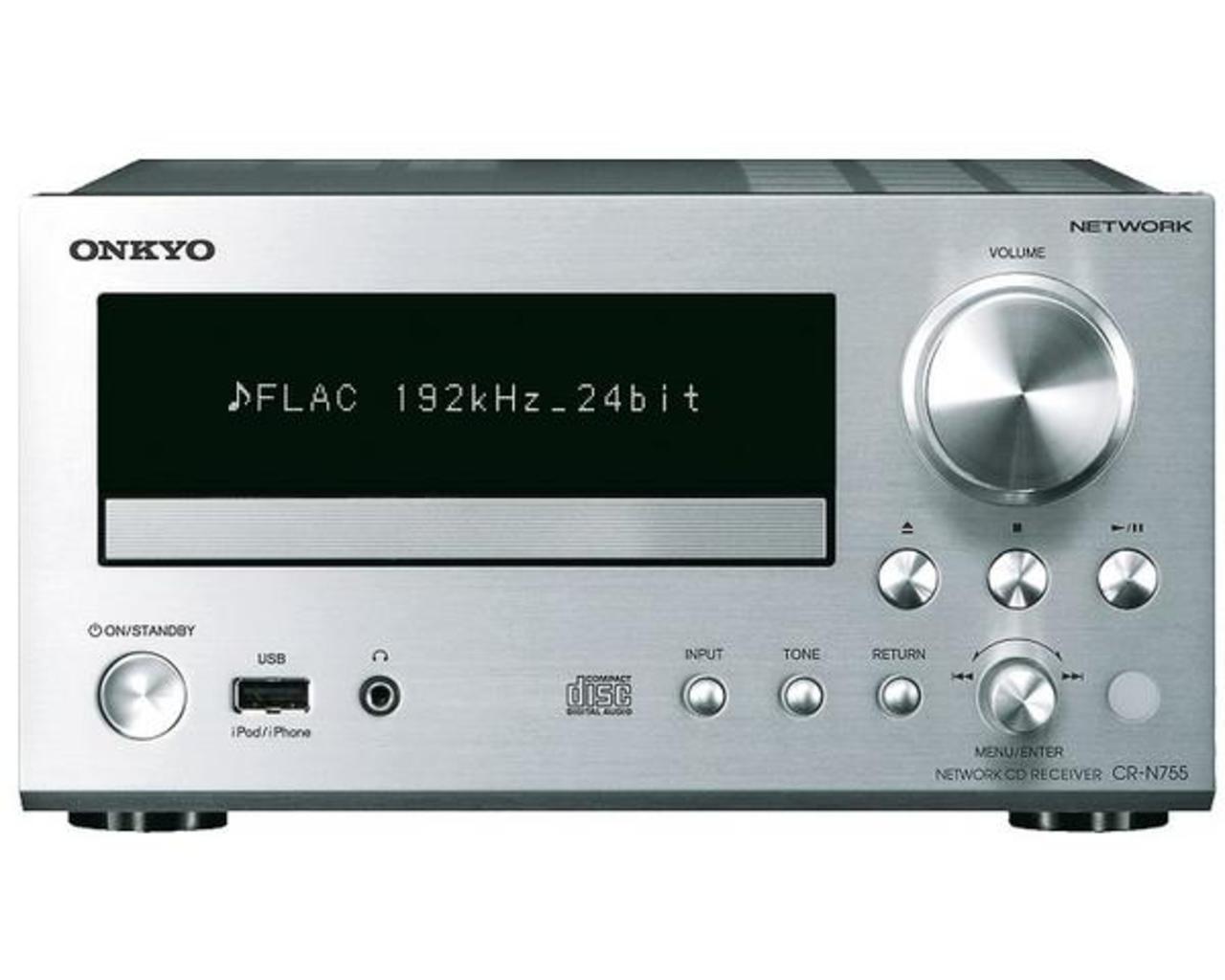 Onkyo: CR-N755 CD Netwerk Mini Receiver Zilver kopen
