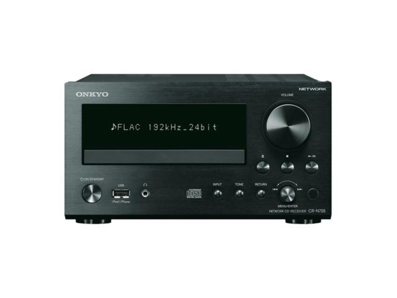 Onkyo: CR-N755 CD Netwerk Mini Receiver Zwart kopen