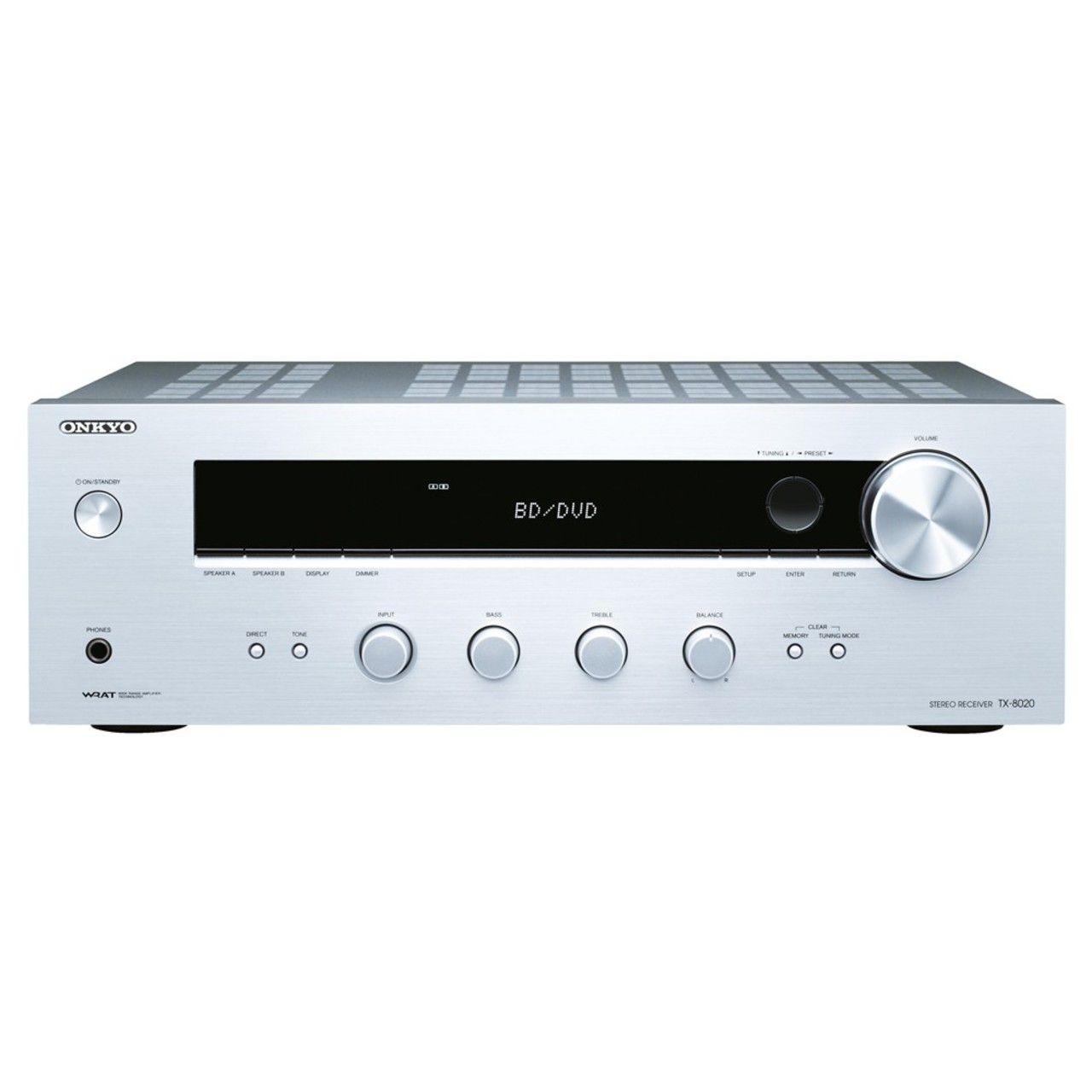 Onkyo: TX-8020 Stereo receiver – Zilver kopen