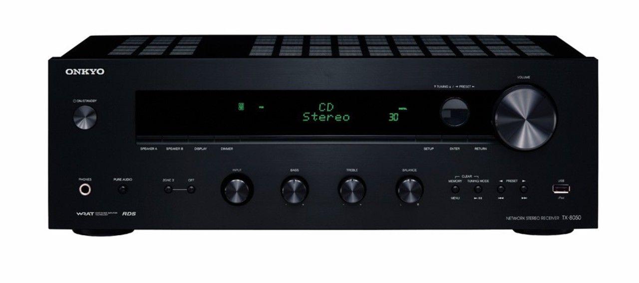 Onkyo TX-8050 Zwart + GLE 490