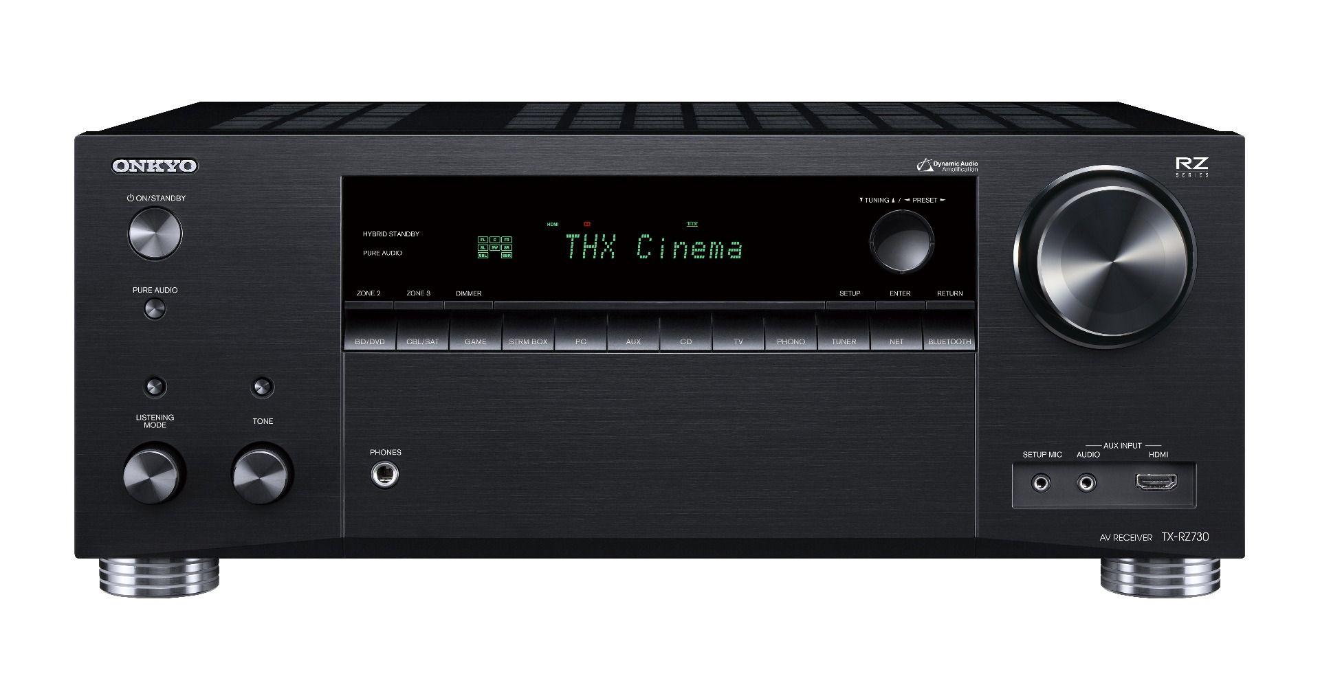 Onkyo: TX-RZ730 9.2 Surround Receiver Zwart