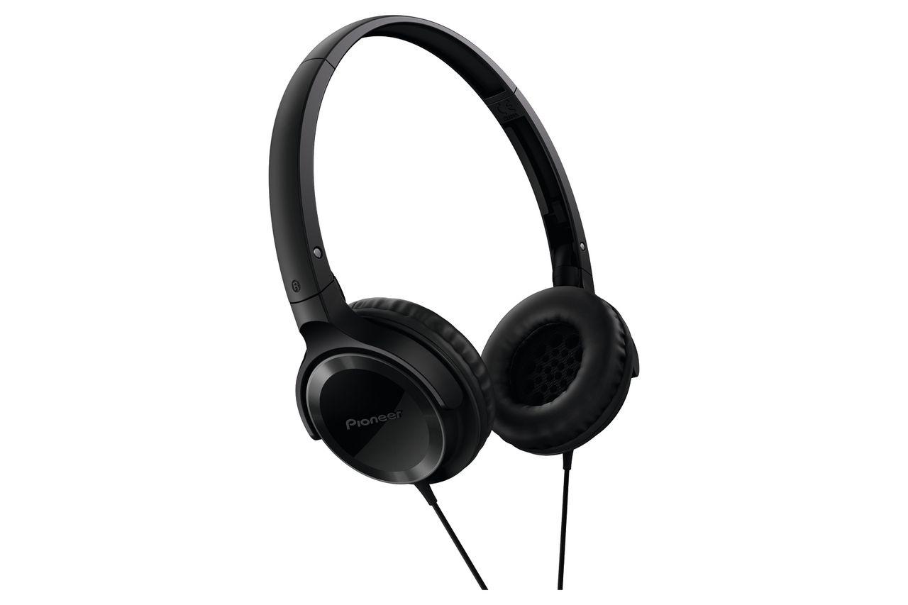 Pioneer SE-MJ502-K Hoofdtelefoon Zwart
