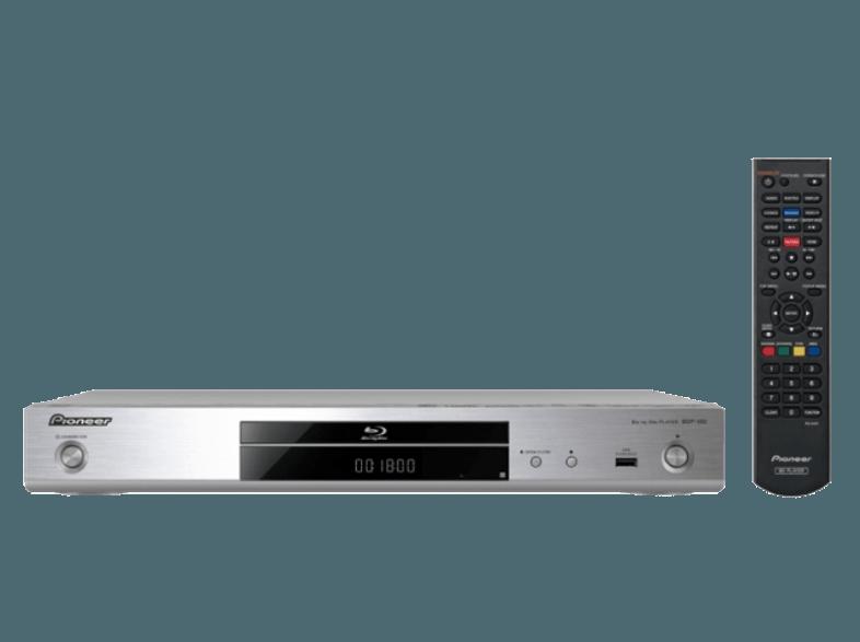 Pioneer: BDP-180 Blu-Ray Speler - zilver