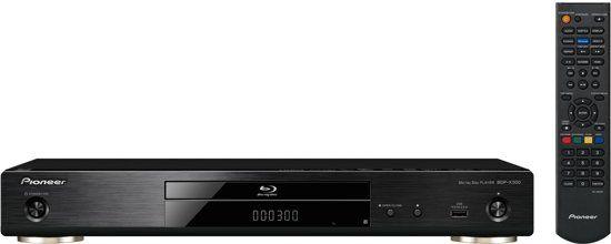 Pioneer: BDP-X300 Blu-Ray Speler - Zwart