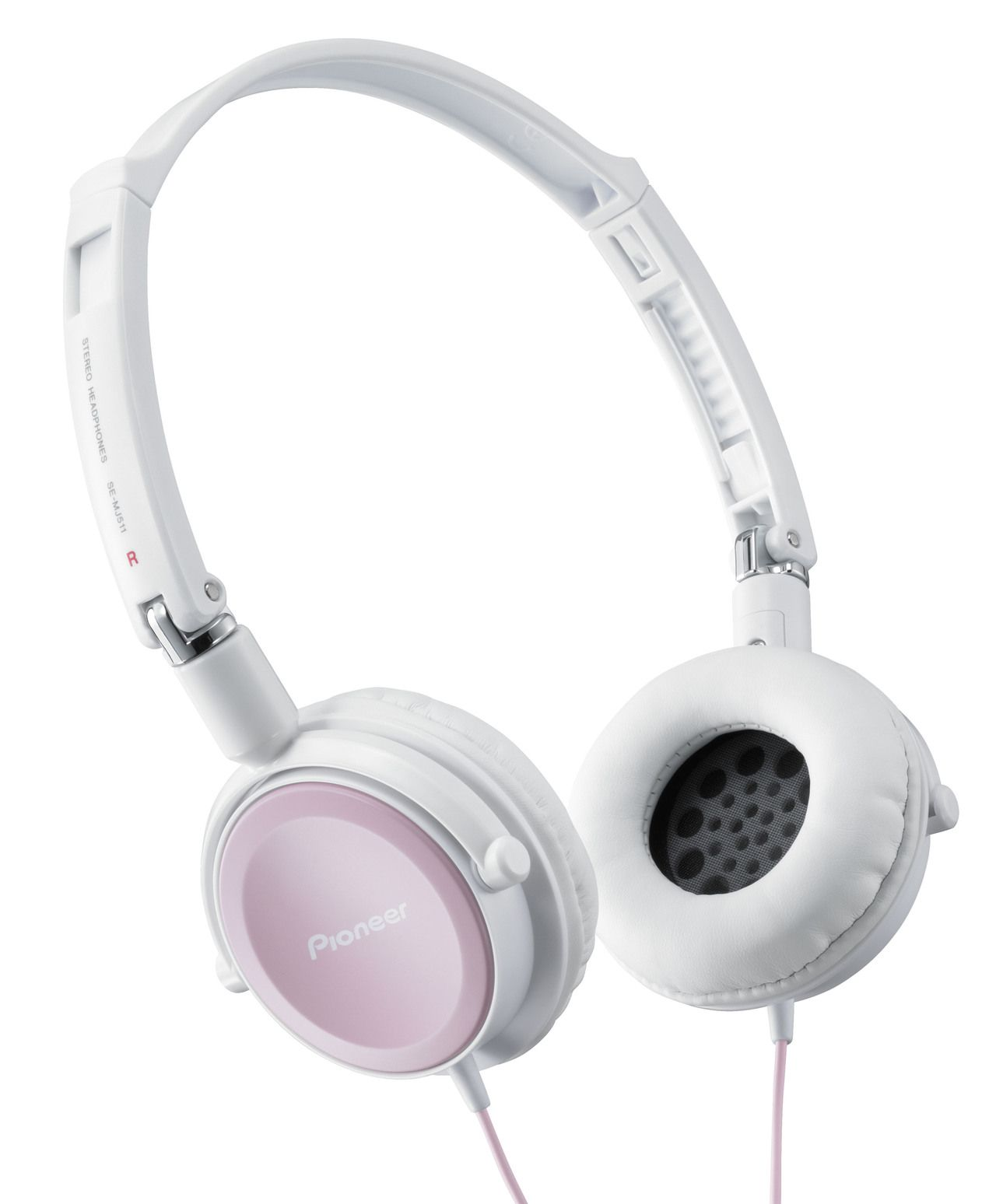 Pioneer multimedia SE-MJ511-HP multimedia hoofdtelefoon roze