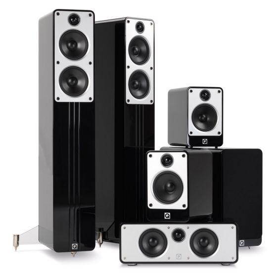 Q Acoustics: 5.1 Homecinema Pack – Zwart kopen
