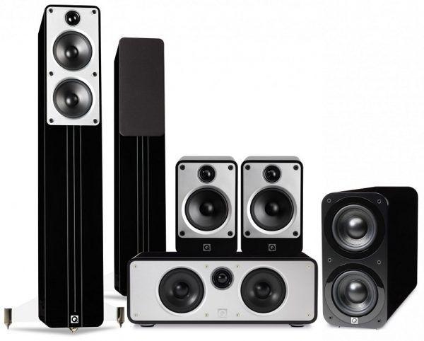 Q Acoustics: Concept Cinema Pack – Zwart kopen