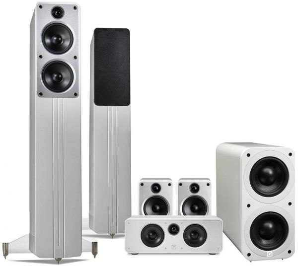 Q Acoustics: Concept Cinema Pack – Wit kopen