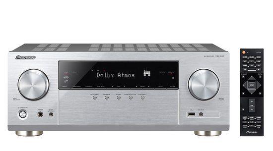 Pioneer: VSX-932 AV Receiver - Zilver voor €299