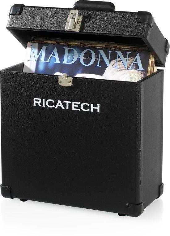 Ricatech RC0042 platenkoffer Zwart