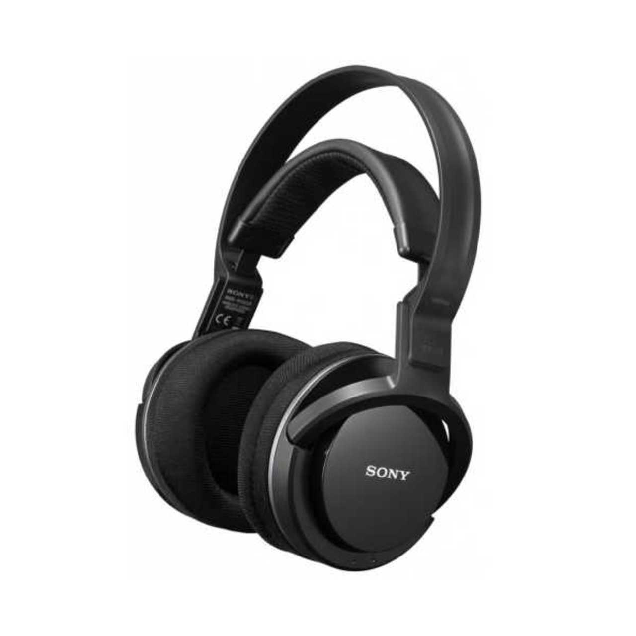 Sony: MDR-RF855RK Draadloze over-ear koptelefoon Zwart