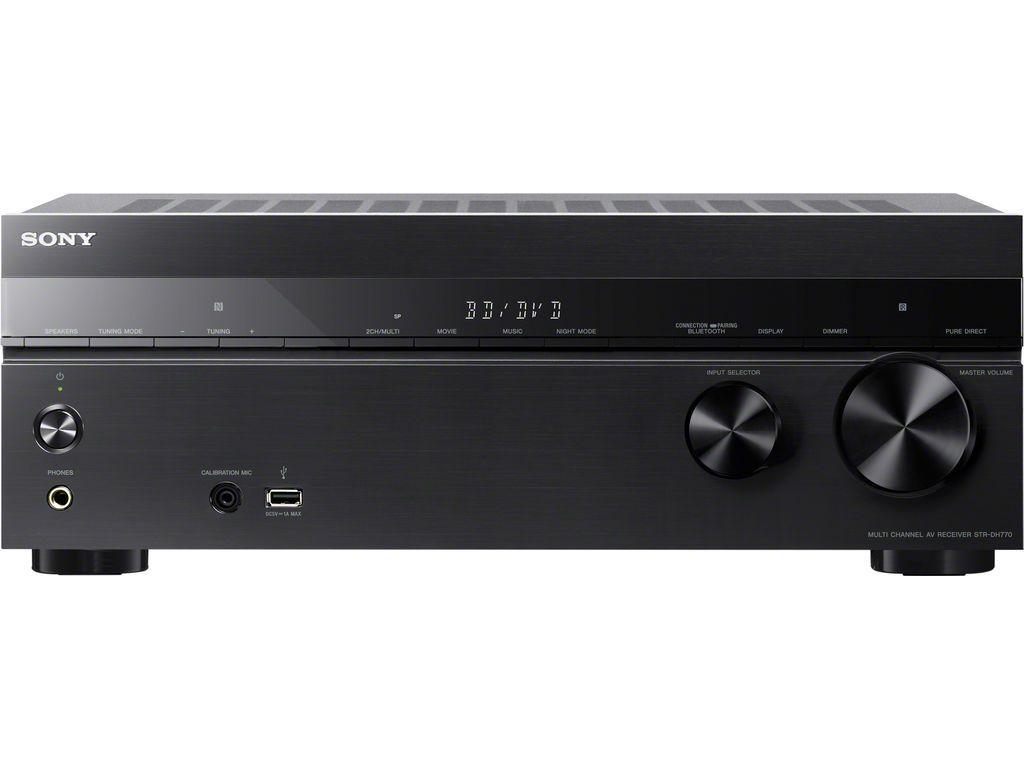 Sony: STR-DH770 7.2-kanaals AV-receiver – Zwart kopen